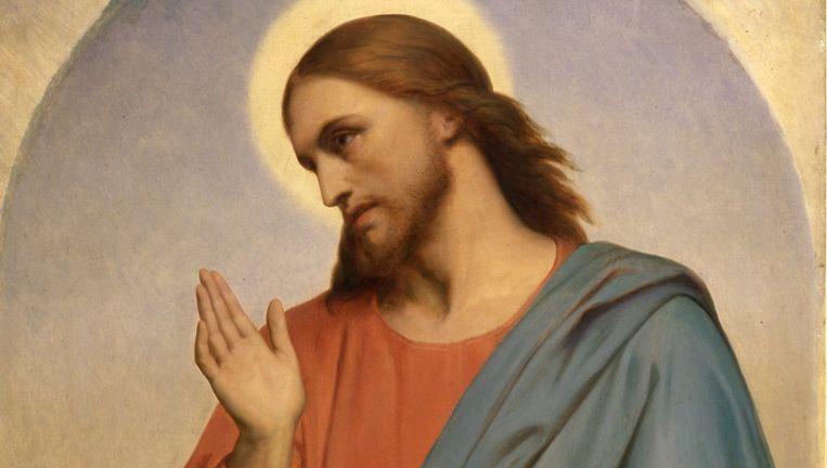 'Jezus rouwt om Jeruzalem' van Ary Scheffer. Beeld Wikimedia