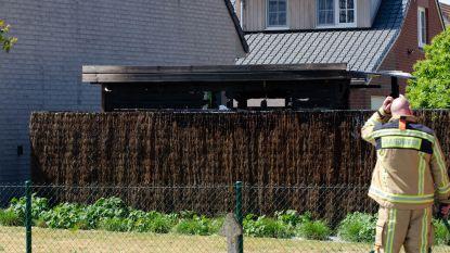 Tuinhuis uitgebrand door achtergelaten barbecuekolen