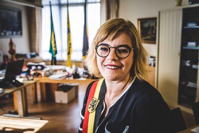 Tania De Jonge, de burgemeester van Ninove.