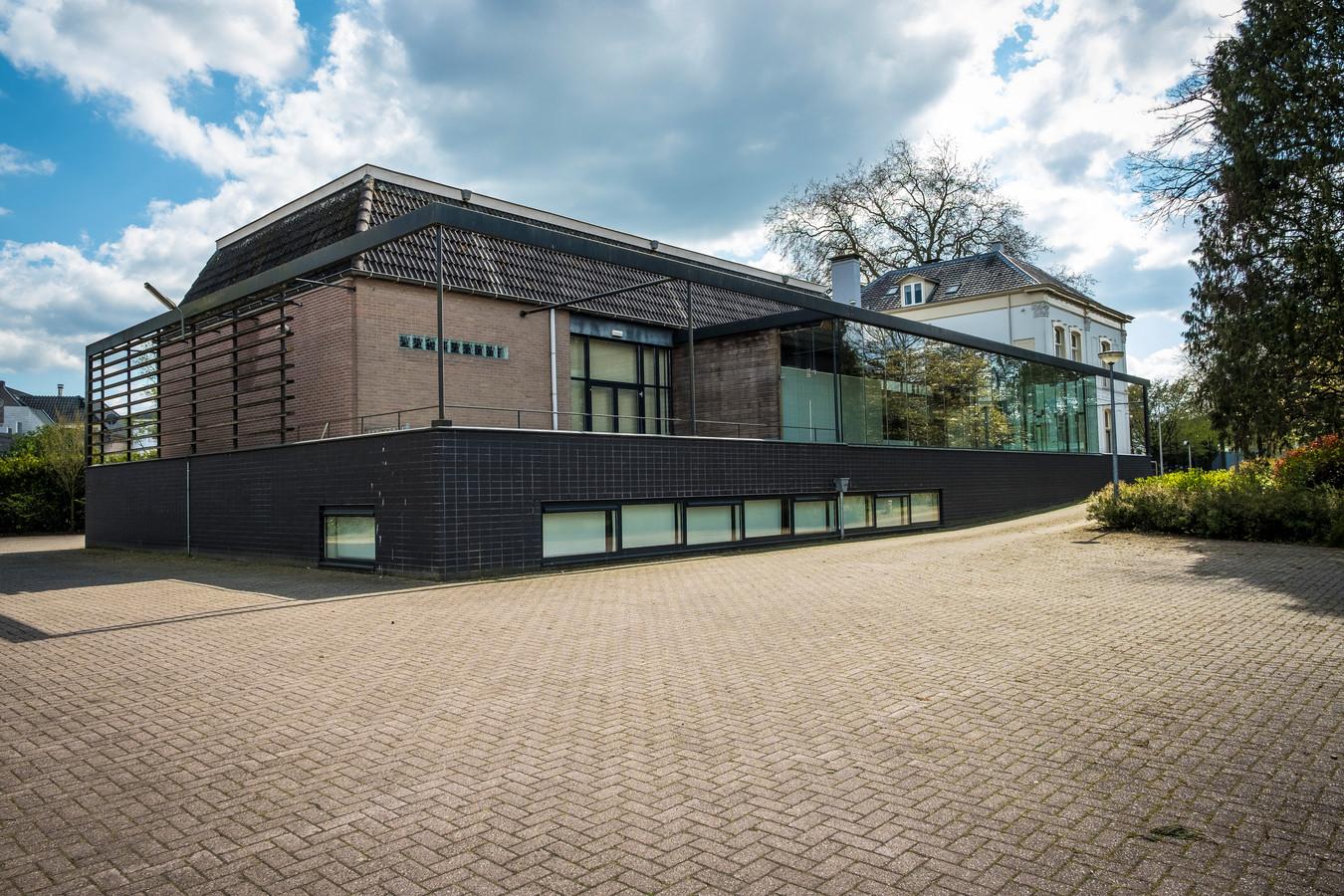 De aangebouwde achterzijde van Welgelegen. In dit deel komen de studio's.
