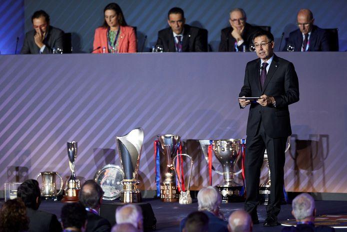 Barça-voorzitter Josep Maria Bartomeu.