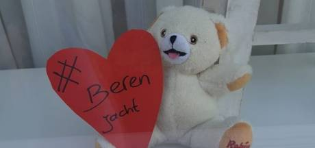 Berenjacht gaat 'viraal' in Nederland, kinderen kunnen beren zoeken in hun eigen woonwijk