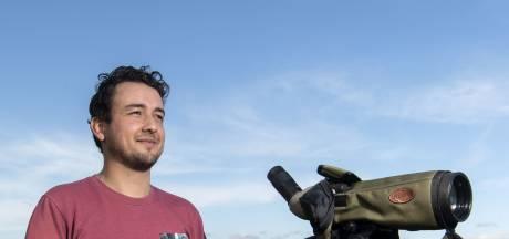 Vogeltrektellers uit de Achterhoek verrast met duizenden buizerds uit Scandinavië