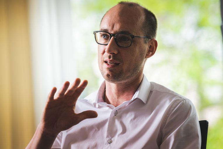 Minister van Financiën, Vincent van Peteghem. Beeld Wannes Nimmegeers