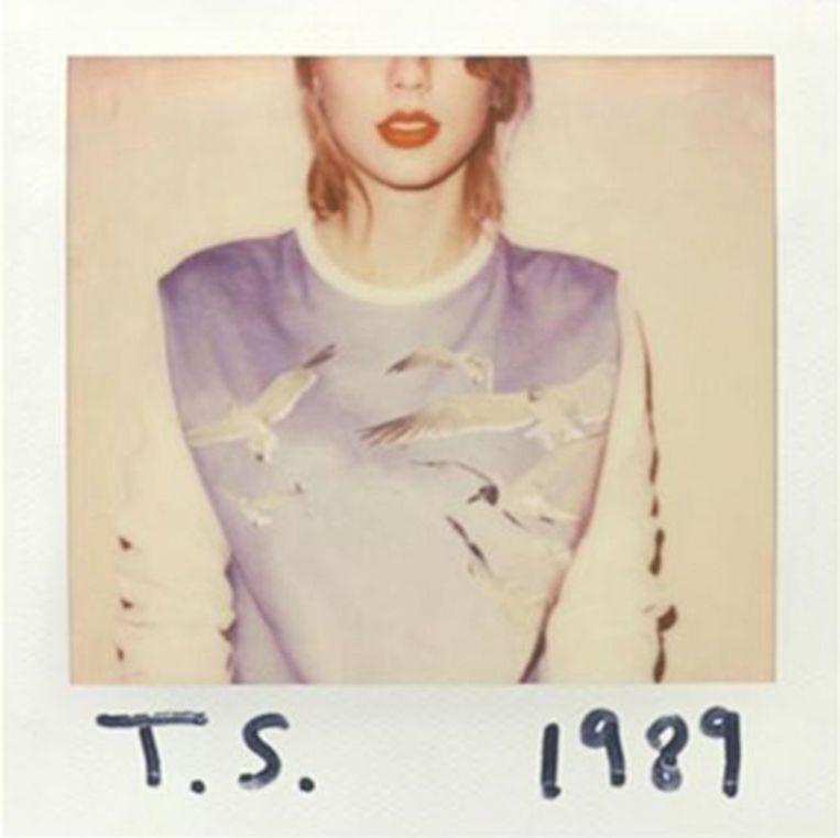 De albumcover van '1989' van Taylor Swift.