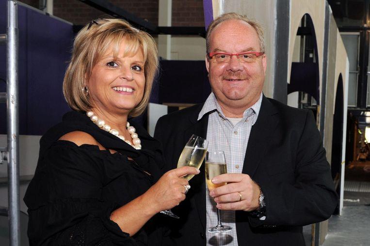 Marina Beullens (hier met Peter Van Biesbroeck) overleed eind juni aan kanker.
