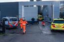 De ambulance en traumahelikopter kwamen ter plaatse.