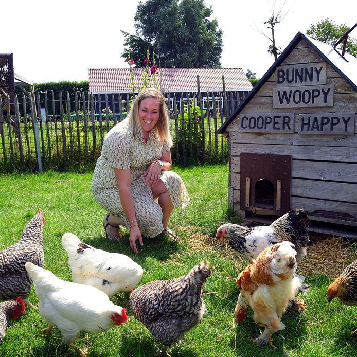Dorien de Kort begint een agrarisch kinderdagverblijf bij Hoeve Kakelbont.