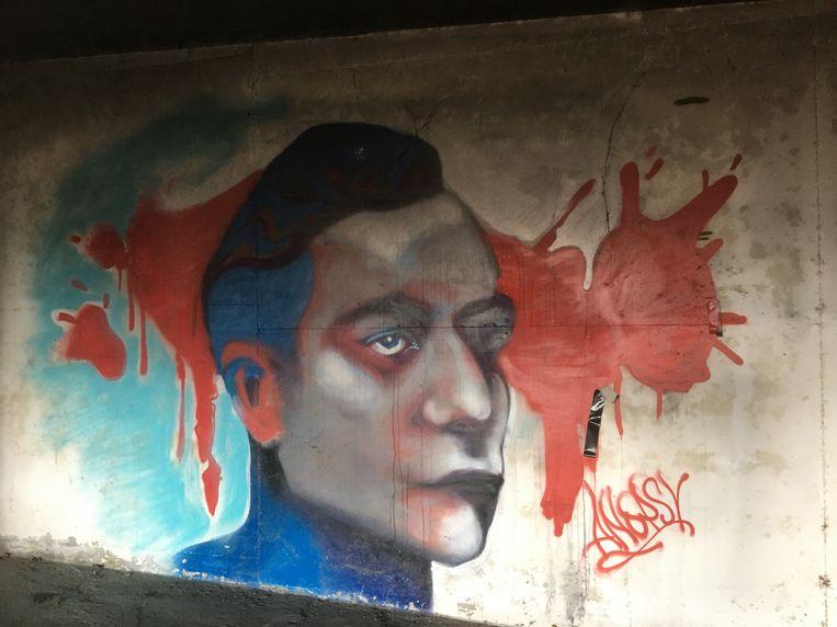 Kempering was ook een vrijplaats voor graffiti-artiesten, onder wie bekende namen als Mick la Rock, Rogier Wagenvoort en SMIB. Beeld Imagine IC