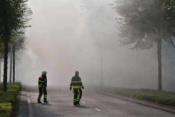 Woningbrand in aan Antwerpseweg in Rijsbergen.
