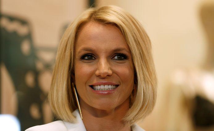 Britney Spears enkele jaren geleden