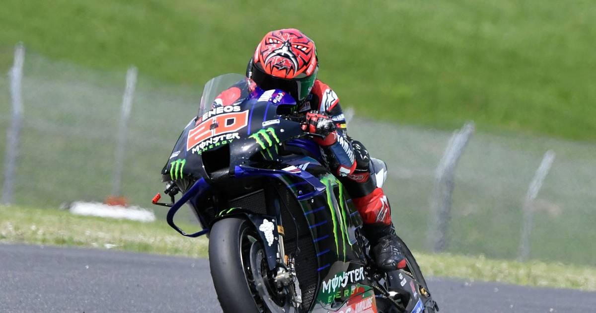 Quartararo pakt pole na zwaar ongeval Dupasquier in Moto3.