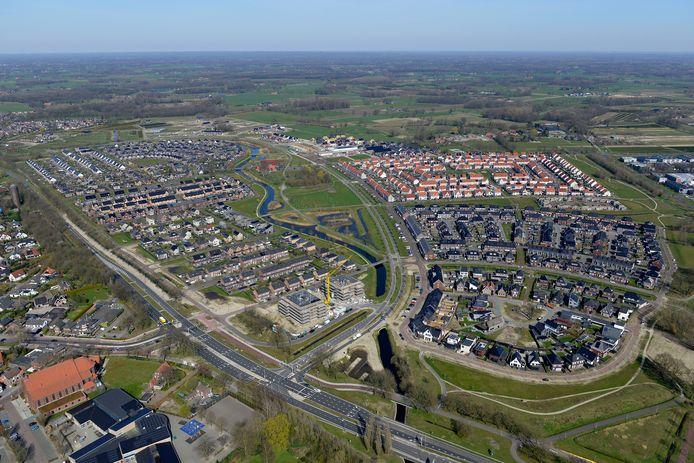 Bornsche Maten, een wijk in ontwikkeling.