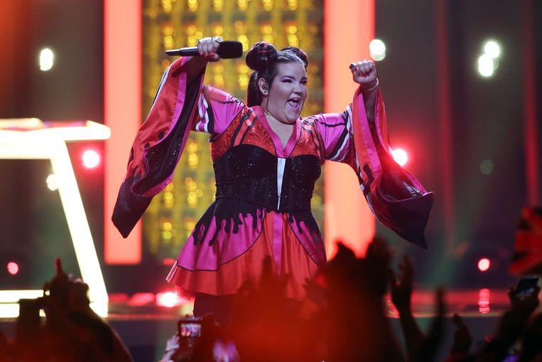 Netta wint in 2018 met het nummer 'Toy'. Beeld Hollandse Hoogte / EPA