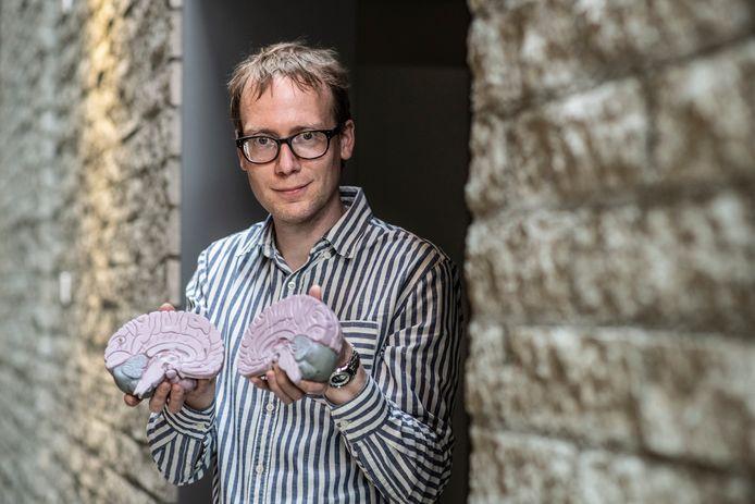 Floris de Lange is hersenonderzoeker bij Donders Center for Cognitive Neuroimaging