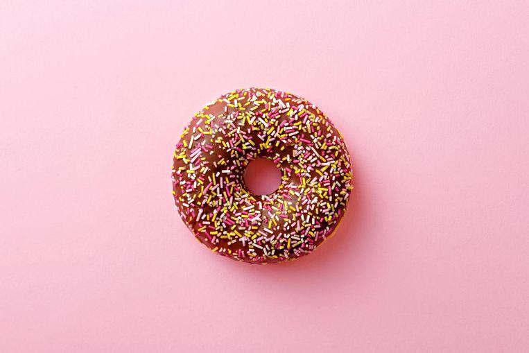 De eetbare ring van de donut staat voor de 'veilige en rechtvaardige ruimte' waarnaar de mensheid moet streven Beeld Getty