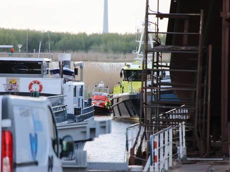 Stoffelijk overschot gevonden bij scheepswerf in Werkendam