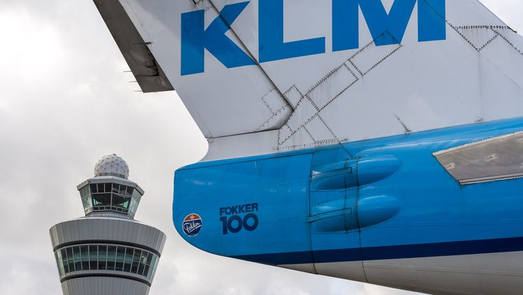 KLM heeft in maart 2,4 miljoen passagiers vervoerd Beeld ANP