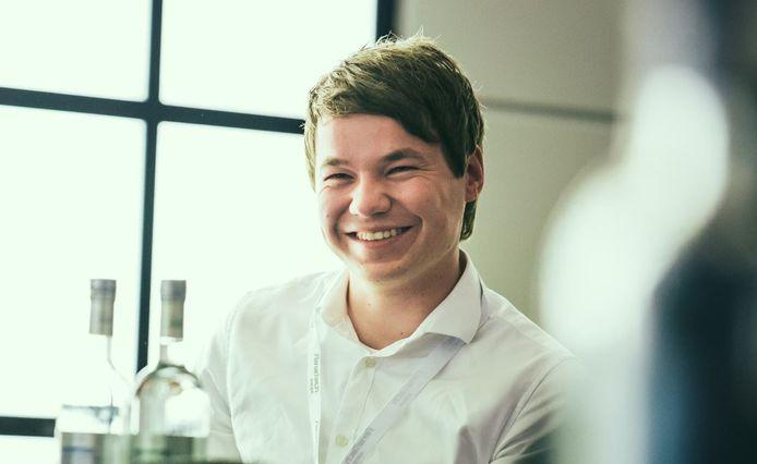Cornelis Rusticus (29) is process engineer bij Steinfort Glas in Franeker
