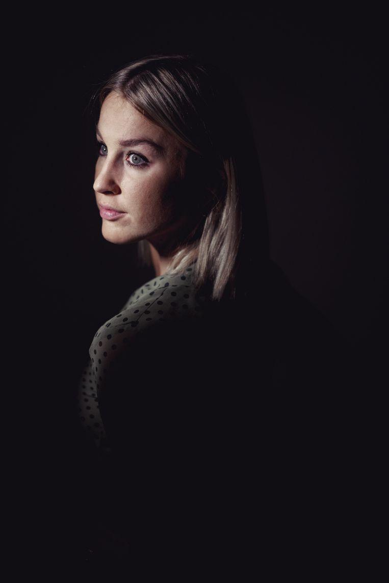 'Ik vermoed dat Dries soms stiekem bij zichzelf denkt: o god, wat zal ze nu weer zeggen?' Beeld © Stefaan Temmerman