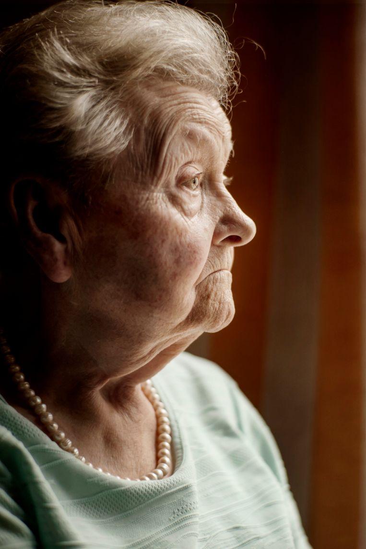 Georgette (83). Beeld Eric de Mildt
