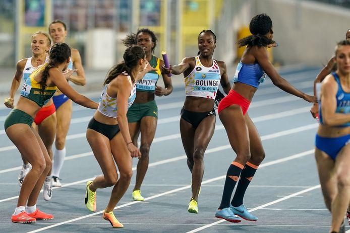 Cynthia Bolingo liep niet meer in de finale