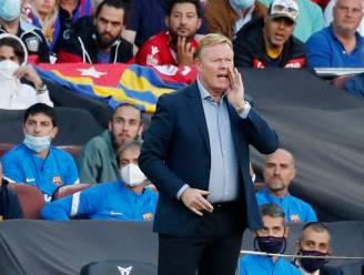 Koeman slaat terug na incident met Barcelona-fans: 'Zijn mensen die slecht zijn opgevoed'