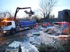 Groep van 15 man forceert hek om toch vreugdevuur op te bouwen in Vlaardingen: 11 aanhoudingen