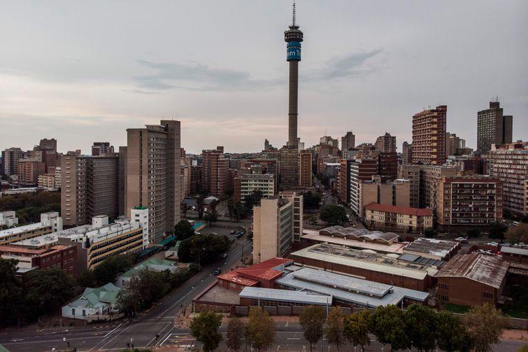 Het centrum van Johannesburg Beeld AFP