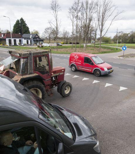 Viaduct over N35 bij Stationsweg is geen definitieve oplossing voor grote verkeersproblemen bij Haarle: omwonenden verwachten veel overlast