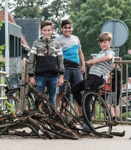 'Bom' in Oude IJssel blijkt ijzeren buis, maar toch...