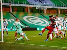 Feyenoord laat ook in Groningen dure punten liggen