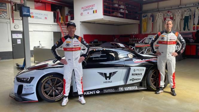 Peter Guelinckx en Bert Longin bundelen de krachten voor nieuw Europees kampioenschap aan het stuur van een Audi