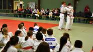 Judoka Ilse Heylen geeft massatraining
