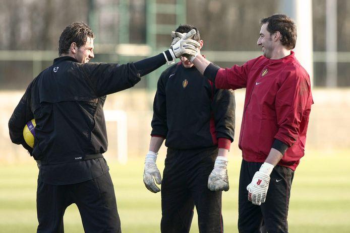 Logan Bailly en Stijn Stijnen bij de nationale ploeg.