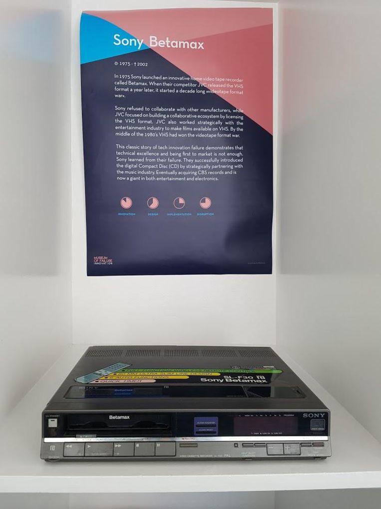 Sony Betamax Beeld