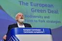 Eurocommissaris Frans Timmermans lanceerde de  'Farm to Fork Strategy' - 'Van boer tot bordstrategie' - als onderdeel van de Europese  'Green Deal'.