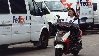 China zegt dat onderzoek naar FedEx geen vergelding is voor Huawei