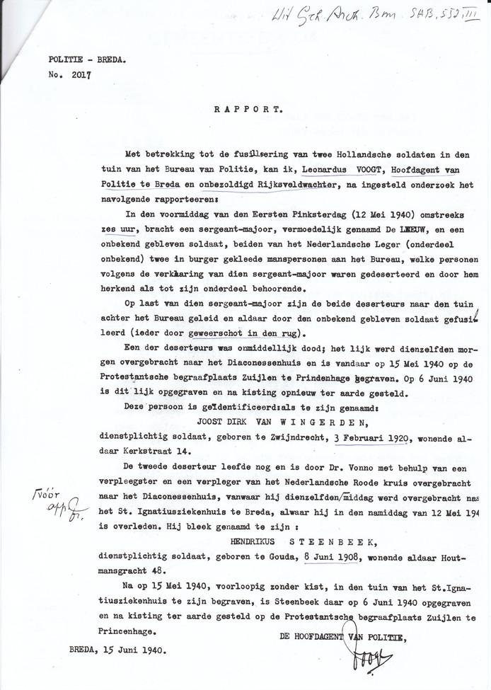Proces Verbaal van de executie, deel 2.