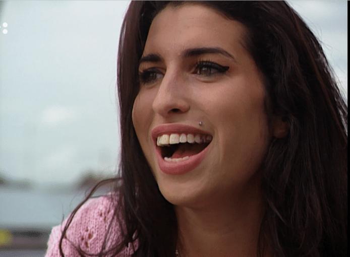 Amy Winehouse op de dag van het eerste interview dat Jean-Paul Heck met haar had.