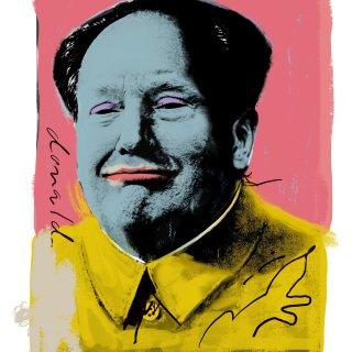 Als icoon blijft Donald 'Mao Tse' Trump nog wel even in functie