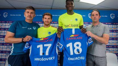 Nu al letterlijk aan zijn plafond in Genk: kampioen stelt Nigeriaanse reus (en Slovaakse middenvelder) voor