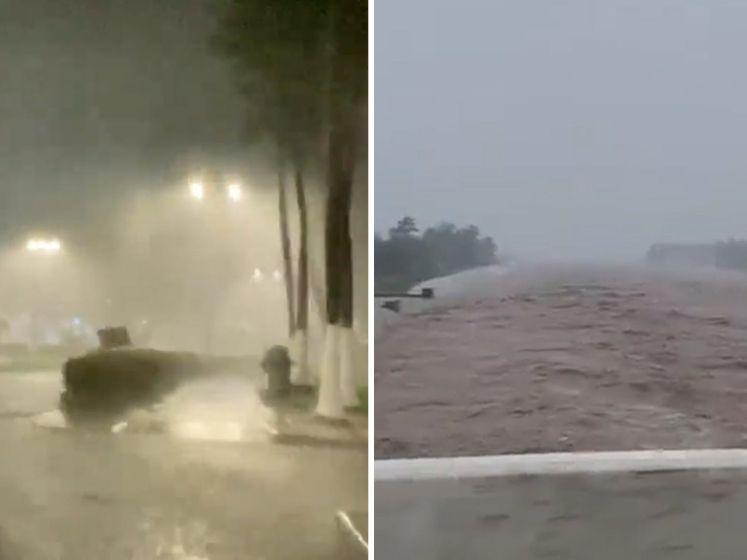 Orkaan Rick komt aan in Mexico: waarschuwing voor stortvloed