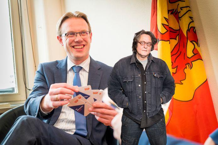 Kees Thies over de coalitiebreuk in Alblasserdam en het opstappen van SGP-wethouder Peter Verheij.