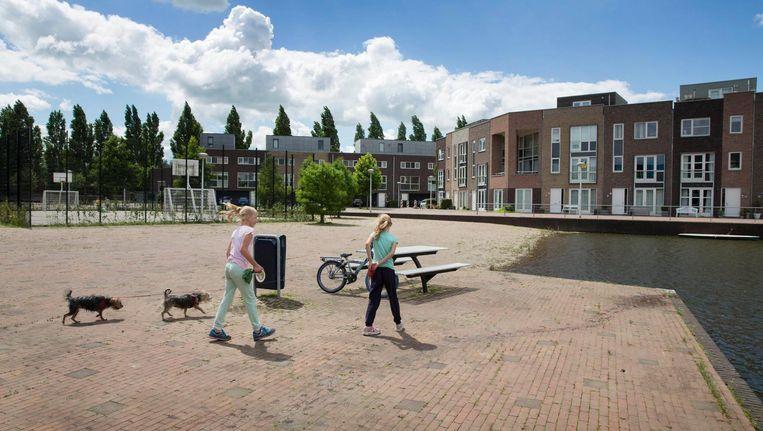 De wijk Terwijde in Leidsche Rijn, de grootste Vinexwijk van Nederland. Beeld Trouw, Werry Crone