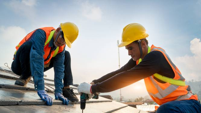 Zes op de tien bouwprojecten vertraagd door bevoorradingsproblemen