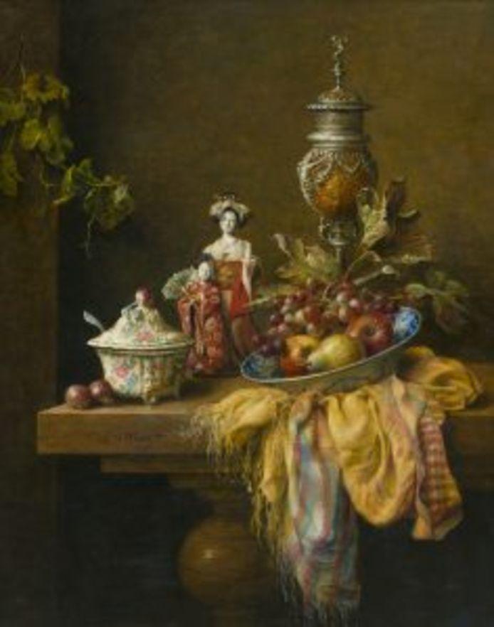 Stilleven van de Eindhovense kunstenaar Cornelis le Mair.