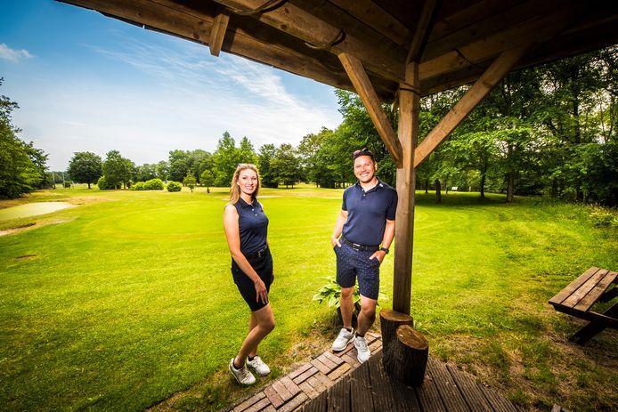 Nikkie en Raffy Wagenar van de Twentse Golf Academy in Bentelo zijn de nieuwe eigenaren van het Golfpark Het Langeloo in Haaksbergen.