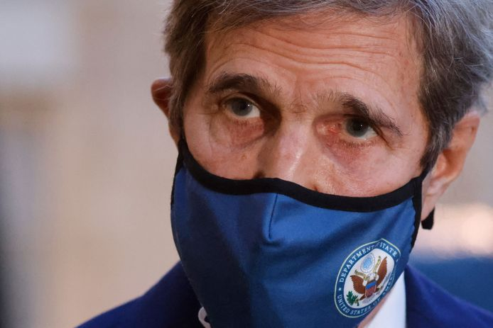 De Amerikaanse klimaatgezant John Kerry.