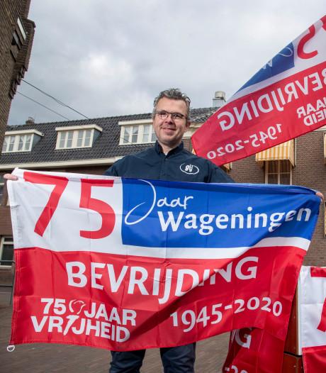 Met de Bevrijdingsvlag viert Wageningen toch samen vrijheid
